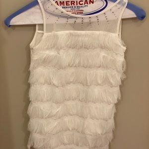 White Monnalisa dress size 6